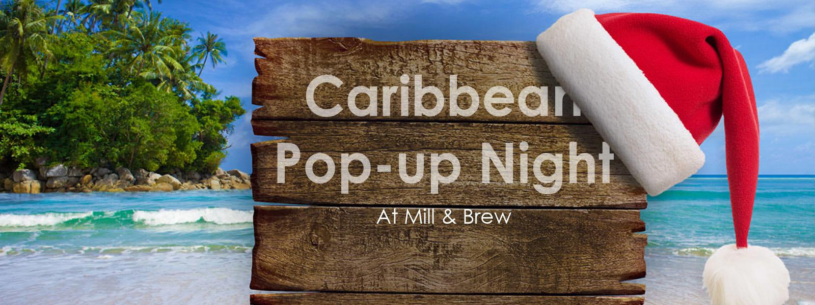 Caribbean Pop-up Night